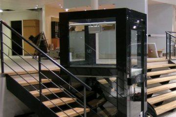 מעלון אנכי עם פיר – 2 מטר