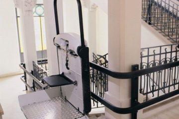 מעלון מדרגות משופע